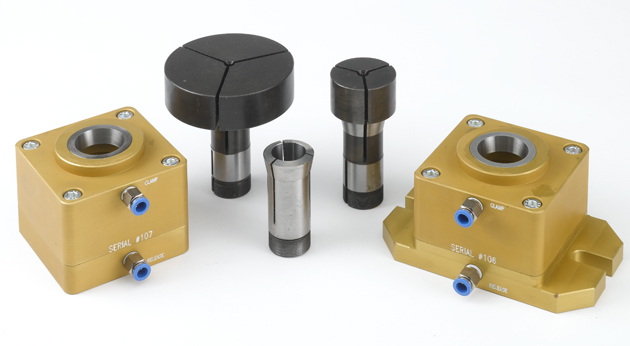 Pneumatic 5C Collet Block